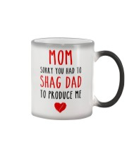 Shag Dad Produce Me  Color Changing Mug thumbnail
