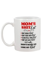 Mom's Sh-list Mug back