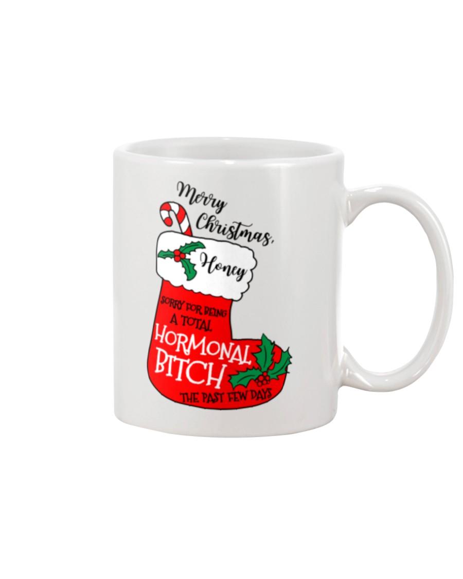 Merry Christmas Hormonal Bitch Mug