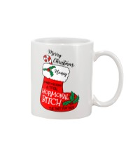 Merry Christmas Hormonal Bitch Mug front