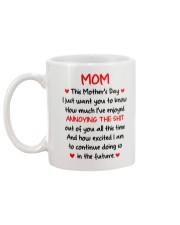 Mom Anjoyed Annoying Mug back