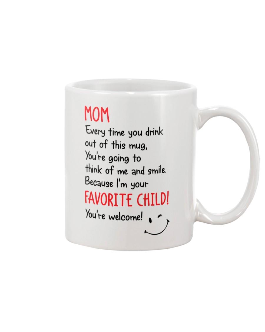 Mom Drink Out Of  Mug
