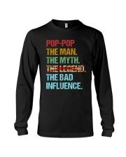 Pop-pop Legend Bad Influence Long Sleeve Tee thumbnail