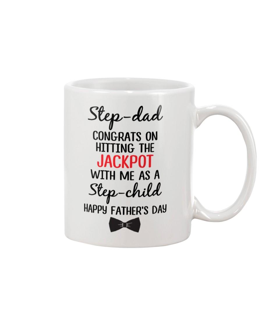 Step Dad Hitting Jackpot Mug