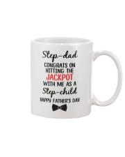 Step Dad Hitting Jackpot Mug front