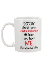 Sorry About Other Children Mug back