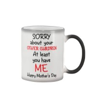 Sorry About Other Children Color Changing Mug thumbnail