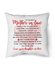 """The Best Mother-in-law Pillow Indoor Pillow - 16"""" x 16"""" thumbnail"""