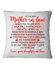 The Best Mother-in-law Pillow Square Pillowcase front