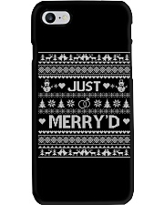 Just Merry Phone Case thumbnail