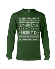 Just Merry Long Sleeve Tee front
