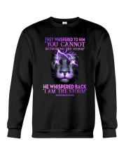 Strong Father I Am The Storm Crewneck Sweatshirt tile
