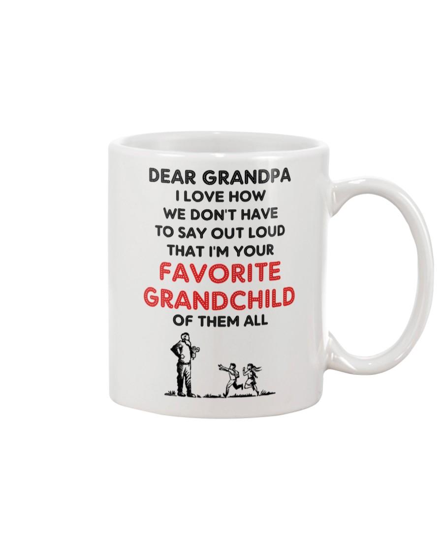 Favorite grandchild Grandpa Mug
