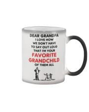 Favorite grandchild Grandpa Color Changing Mug thumbnail