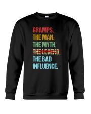 Gramps Bad Influencer Crewneck Sweatshirt thumbnail