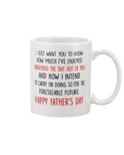Enjoyed Annoying Foreseeable Future Dad Mug front