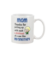 A Dickhead Of A Son Like My Brother Mug front