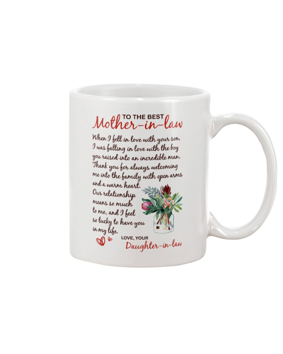 Mother-in-law Lucky To Have You  Mug