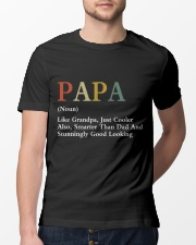 Papa Retro Good Looking Classic T-Shirt lifestyle-mens-crewneck-front-13