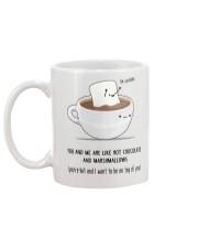 Hot Chocolate Mug back