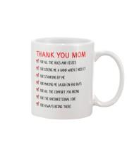 Thank You Mom Mug front