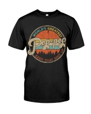 World's Greatest Pop Pop Keep Up Classic T-Shirt front