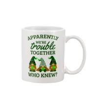 Irish Gnomies Trouble Together Mug thumbnail