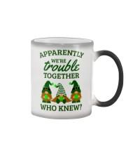 Irish Gnomies Trouble Together Color Changing Mug thumbnail