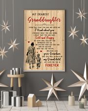 My Dearest Granddaughter Poster 11x17 Poster lifestyle-holiday-poster-1