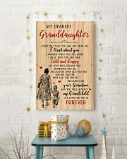 My Dearest Granddaughter Poster 11x17 Poster lifestyle-holiday-poster-3