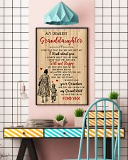 My Dearest Granddaughter Poster 11x17 Poster lifestyle-poster-6