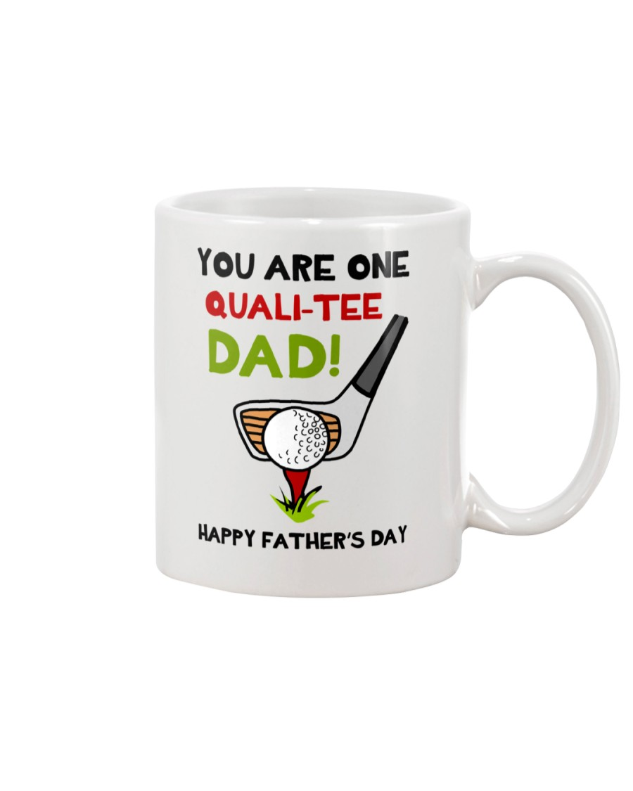 Qualitee Golf Dad Mug