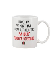 I'm Your Favorite Stepchild Personalized Mug front
