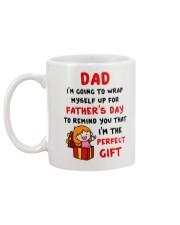 Wrap Myself For Father's Day Mug back