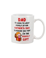 Wrap Myself For Father's Day Mug front