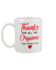 Thanks For Orga Valentine Mug back