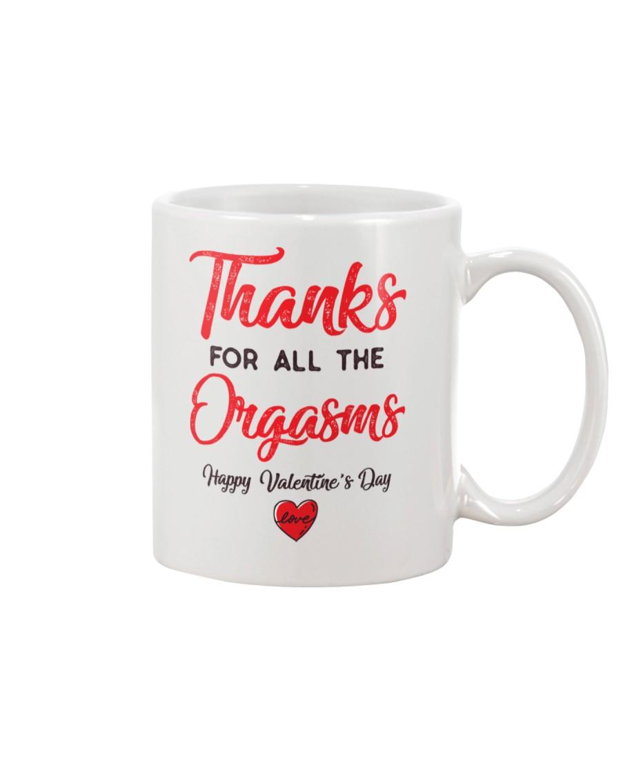 Thanks For Orga Valentine Mug