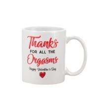 Thanks For Orga Valentine Mug front