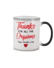 Thanks For Orga Valentine Color Changing Mug thumbnail
