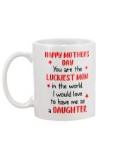 Luckiest Mom In The World Mug back