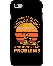 Kayak fishing Phone Case thumbnail