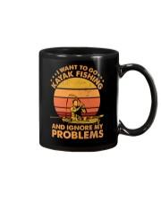 Kayak fishing Mug thumbnail