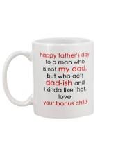 Who Acts Dad-ish Mug back