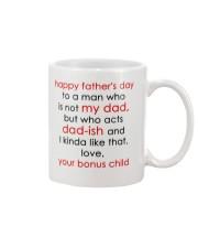 Who Acts Dad-ish Mug front