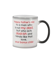 Who Acts Dad-ish Color Changing Mug tile