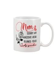 Mom Sorry For Massive Head Mug front