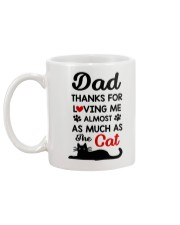 Dad Almost The Cat Mug back