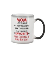 Mom Say Out Loud Xmas Color Changing Mug thumbnail