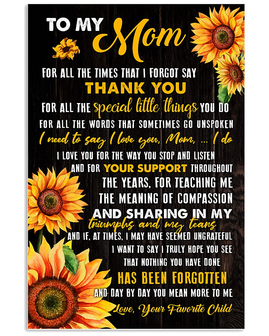 Mom Sharing Triumphs And Tears 11x17 Poster
