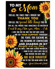 Mom Sharing Triumphs And Tears 11x17 Poster front
